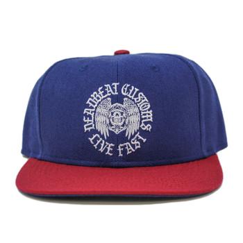 Deadbeat Customs Live Fast Blue Snapback