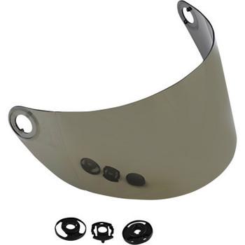 Biltwell - Gringo S Helmet Gen 2 Flat Shield - Gold Mirror