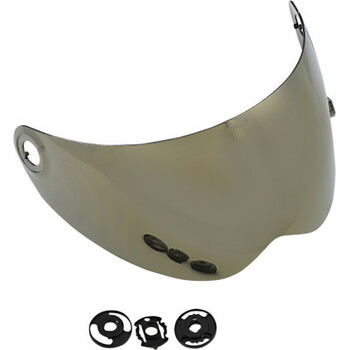 Biltwell - Lane Splitter Helmet Gen 2 Shield - Gold Mirror