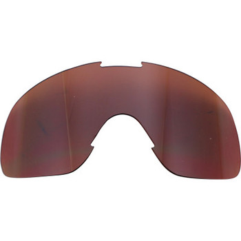 Biltwell - Overland/Overland 2.0 Goggle Lens - Chrome/Brown Mirror
