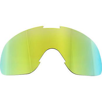 Biltwell - Overland/Overland 2.0 Goggle Lens - Lime/Brown Mirror
