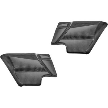 Slyfox - Carbon Fiber Side Covers fits '14-'20 FLHT/FLHR/FLHX/FLTRX/FLTRU/FLTRK Models (Gloss Finish)