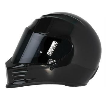 Simpson Helmets - Speed Bandit Motorcycle Helmet - Black
