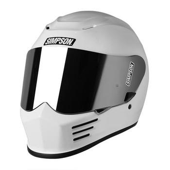 Simpson Helmets - Speed Bandit Motorcycle Helmet - White
