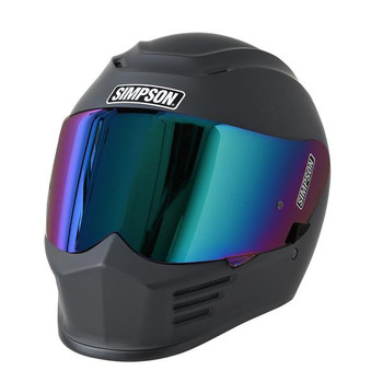 Simpson Helmets - Speed Bandit Motorcycle Helmet - Matte Black