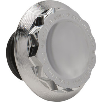 Arlen Ness - 12 Point Gas Cap (Chrome)