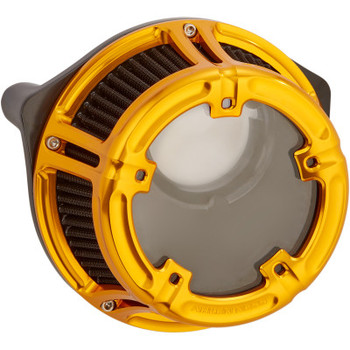 Arlen Ness - Method Clear Series Air Cleaner Kits fits '91-'20 Sportster Models (Gold Anodized)
