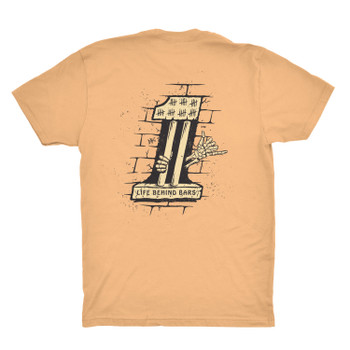Deadbeat Customs Life Behind Bars T-Shirt
