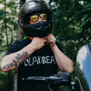 Deadbeat Customs Spare Parts T-Shirt - Black