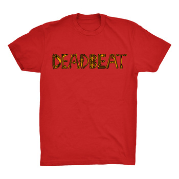 Deadbeat Customs Spare Parts T-Shirt - Red