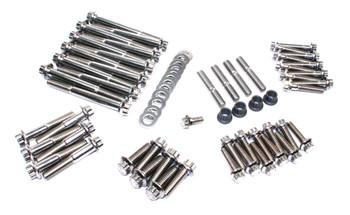 Feuling - 12-Point External Engine Bolt Fastener Kit fits '99-'17 Twin Cam A/B Motors