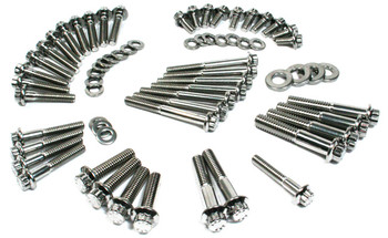 Feuling - 12-Point Primary/Transmission Engine Fastener Kit fits '00-'06 Touring Models