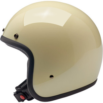 Biltwell - Bonanza Helmet - Vintage White (Side)