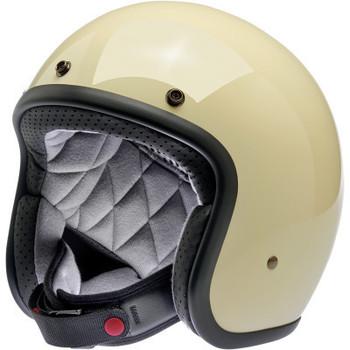 Biltwell - Bonanza Helmet - Vintage White (Front)