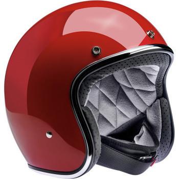 Biltwell - Bonanza Helmet - Gloss Blood Red (Front)