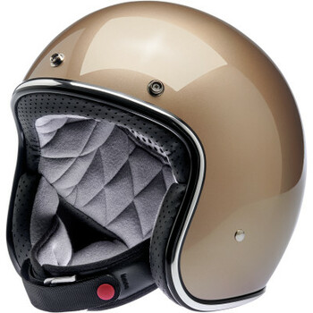 Biltwell - Bonanza Helmet - Metallic Champagne (Front)