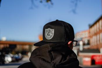 Deadbeat Customs - Forever Two Wheels Snapback Hat - Black