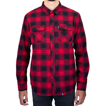 Deadbeat Customs - Classic Flannel Shirt - Diablo