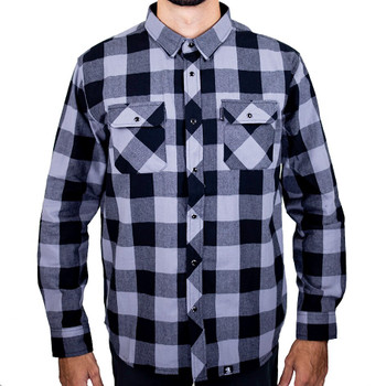 Deadbeat Customs - Classic Flannel Shirt - King