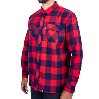 Deadbeat Customs - Classic Flannel Shirt - Patriot