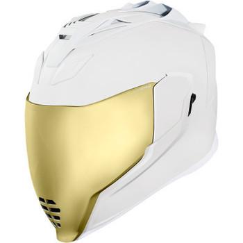Icon - Airflite Peacekeeper Rubatone Helmet - White