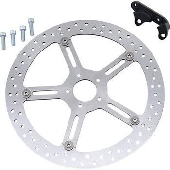"Arlen Ness - Big Brake Floating Rotor Kit (Hub Mount, Left Side) 15"" fits '18-'20 M8 Softail Models"