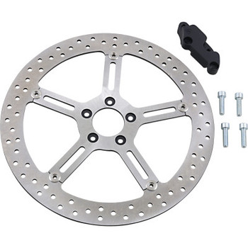 "Arlen Ness - Big Brake Floating Rotor Kit (Left) 15"" fits '06-'13 Sportster Models"