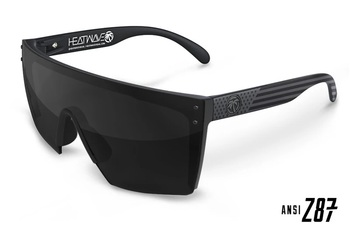 HeatWave Visual - Lazer Face Black Lens Sunglasses Kit - Stars & Stripes Socom