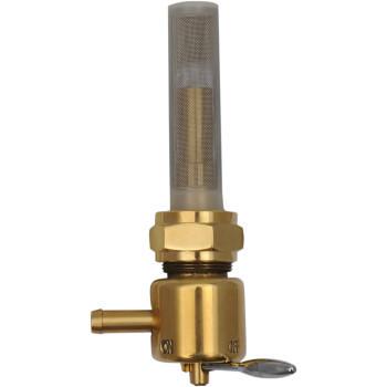 Drag Specialties - 22MM Forward-Facing Outlet Fuel Petcock - Bronze