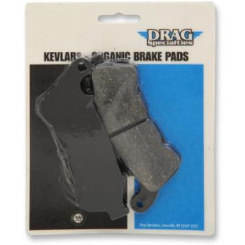 Drag Specialties - Organic Aramid Fiber Front Brake Pads fits '14-'20 Sportster Models (Repl. OEM#41300004)
