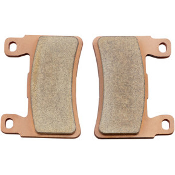 Drag Specialties - Premium Sintered Metal Front Brake Pads fits '15-'17 Softail, '18-'20 M8 Softail Models (Repl. OEM#41300102)