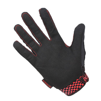 Deadbeat Customs - Moto Gloves - Red