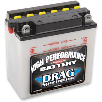 Drag Specialties - High Performance AGM Battery fits '70-'78 Sportster Models (Repl. OEM#66006-70)