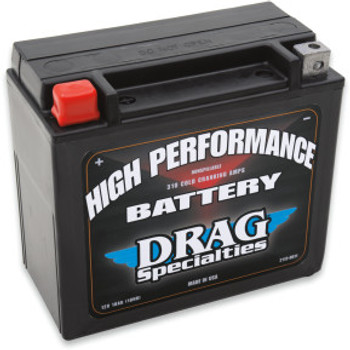 Drag Specialties - High Performance AGM Battery - OEM# 65991-82B
