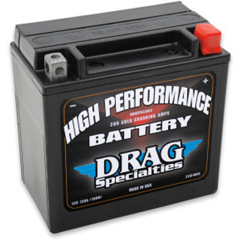 Drag Specialties - High Performance AGM Battery fits '04-'20 Sportster Models (Repl. OEM#65958-04)