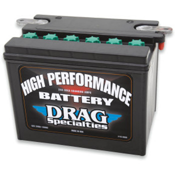 Drag Specialties - High Performance AGM Battery - OEM# 66007-84 fits '65-'84 Touring