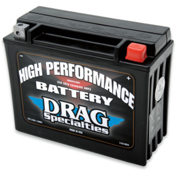 Drag Specialties - High Performance AGM Battery - OEM# 66010-82B fits '80-'96 Touring Models
