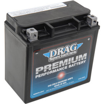 Drag Specialties - Premium Performance Battery - OEM# 65958-04