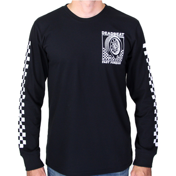Deadbeat Customs Fast Forever Longsleeve Shirt - Black