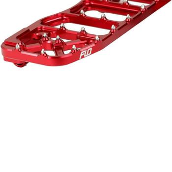 Flo Motorsports - V5 Moto Floorboards fits '84 & Up Touring Models (Red)