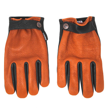 Deadbeat Customs Jackson Two-Tone Bison Leather Gloves