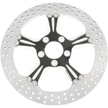 "Performance Machine - 11.5"" Front Center Hub Two-Piece Brake Rotors - Wrath Contrast Cut"