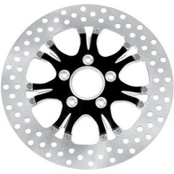 "Performance Machine - 11.8"" Front Center Hub Two-Piece Brake Rotors - Paramount Platinum Cut"