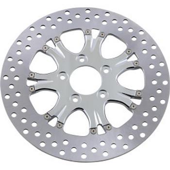 "Performance Machine - 11.5"" Front Center Hub Two-Piece Brake Rotors - Paramount Chrome"
