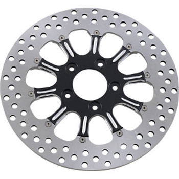 "Performance Machine - 11.5"" Front Center Hub Two-Piece Brake Rotors - Revel Platinum Cut"
