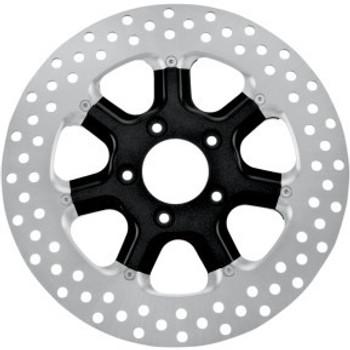 """Roland Sands Design - 11.8"""" Front Center Hub Two-Piece Brake Rotors - Diesel Black Ops™"""