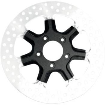 """Roland Sands Design - 11.5"""" Front Center Hub Mount Two-Piece Brake Rotors - Morris Black Ops™"""