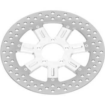 "Roland Sands Design - 11.5"" Front Center Hub Mount Two-Piece Brake Rotors - Delmar Chrome"