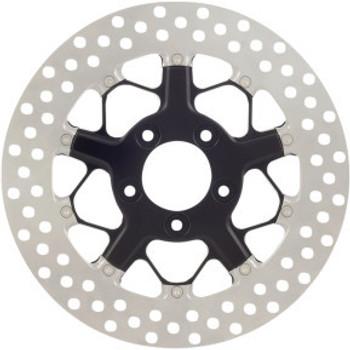 "Roland Sands Design - 11.8"" Front Center Hub Mount Two-Piece Brake Rotors - Hutch Contrast Cut Ops™"