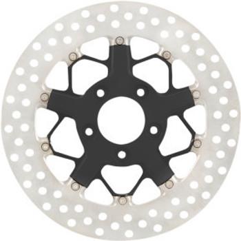 "Roland Sands Design - 11.8"" Front Center Hub Mount Two-Piece Brake Rotors - Hutch Black Ops™"